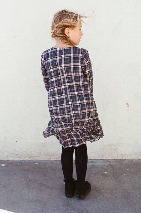 Kid's Shopboyandgirl Sophie Dress in Plaid