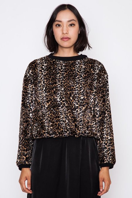 Rachel Comey POISON TOP CHEETAH