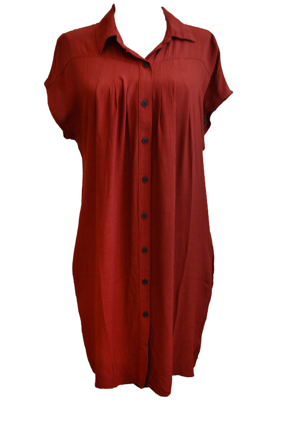 Kain Felder Dress in Ruby
