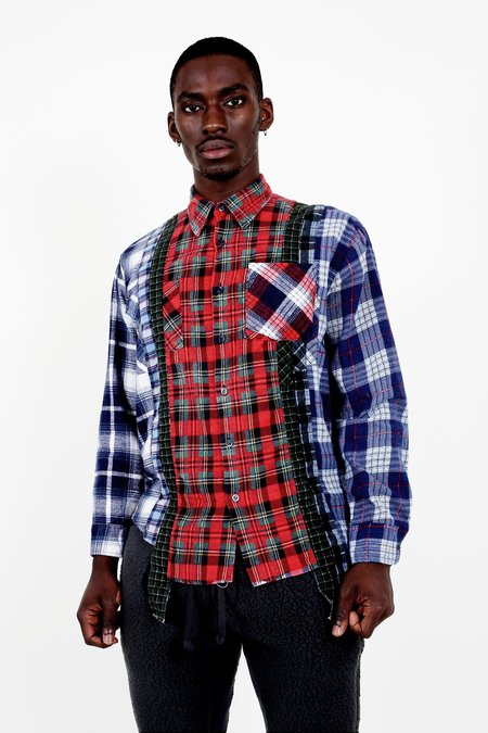 Rebuild by Needles - 7 Cuts Flannel - Size Medium