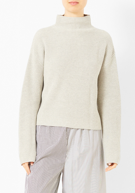 Demy Lee Nadine Turtleneck - Heather Grey