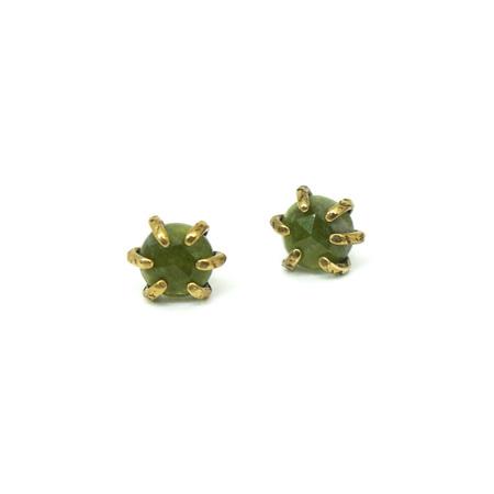 Laurel Hill Jewelry Io Studs - Vessonite