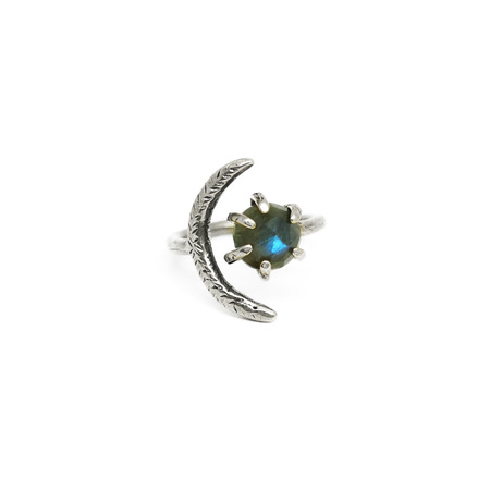 Laurel Hill Jewelry Io Ring - Labradorite