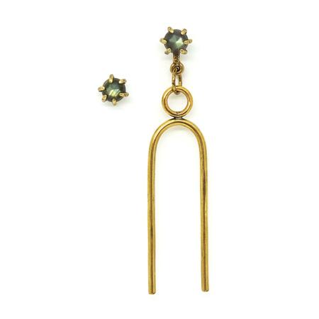 Laurel Hill Jewelry Vibration Earring Set - Labradorite