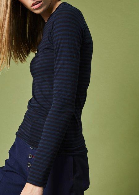 Labo.Art Striped Long Sleeve Sarix Tee