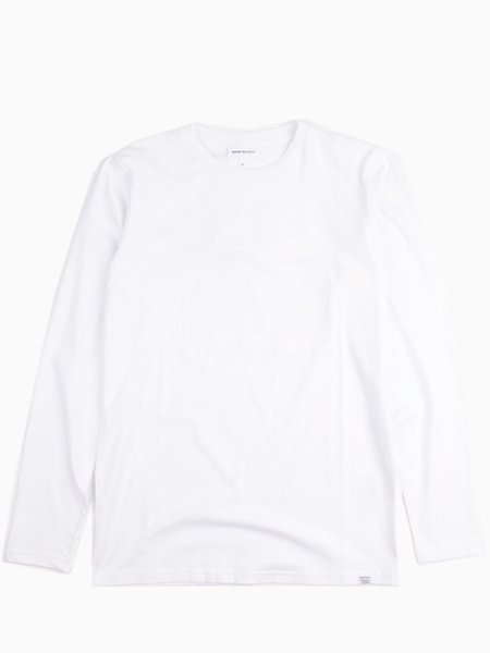 Norse Projects Niels Standard LS White