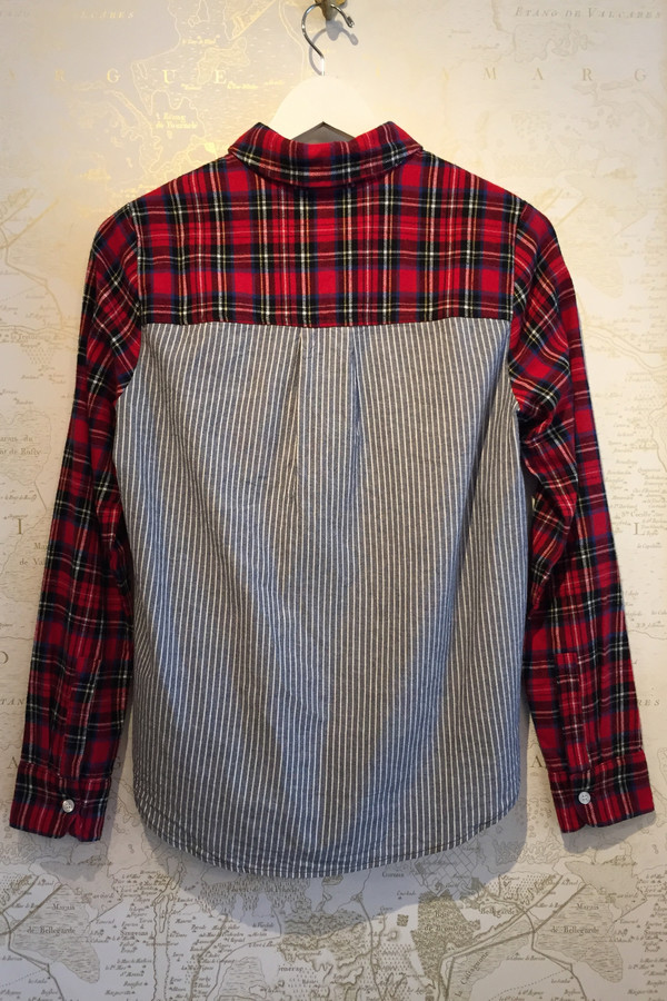 Clu Plaid shirt with stripe back