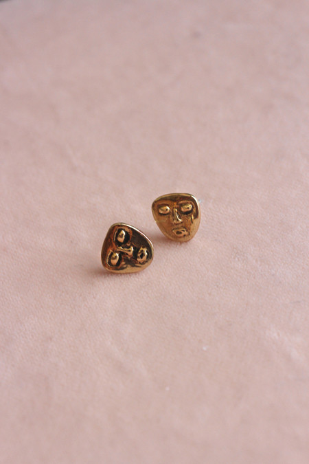 R.E. Elle Mask Earrings