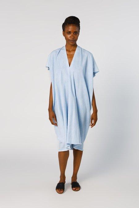 Miranda Bennett In-Stock: Everyday Dress, Denim in Light Indigo