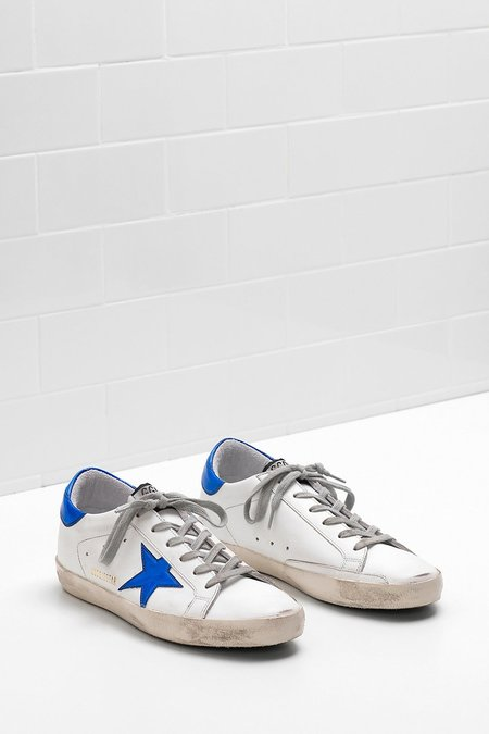 Golden Goose SUPERSTAR SNEAKERS IN BLUE