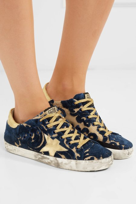 Golden Goose SUPERSTAR SNEAKERS IN DEVORE