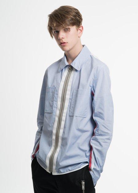 Tim Coppens Blue FZ Shirt Jacket