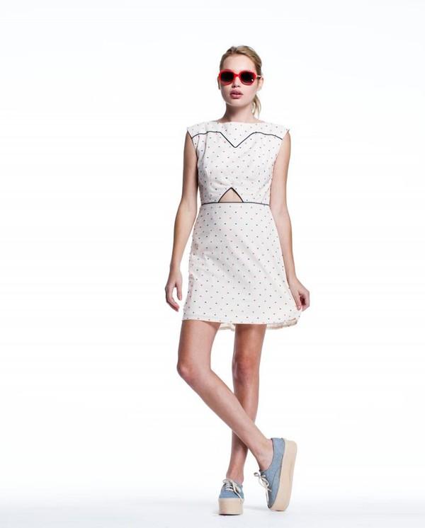 Lauren Moffatt Hairpin Dress