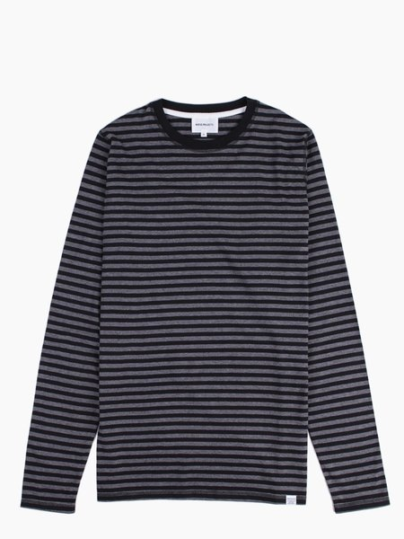 Norse Projects Svali LS Military Stripe