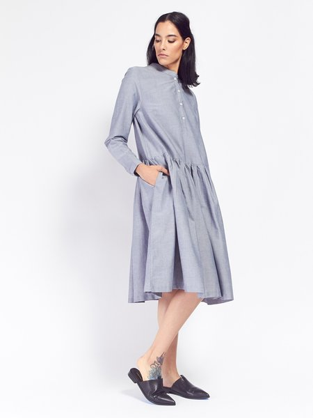 Kowtow Foundation Dress - Chambray