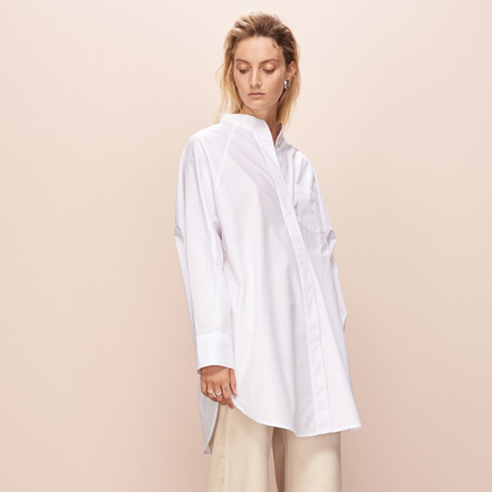 Kowtow Just Love Shirt - White