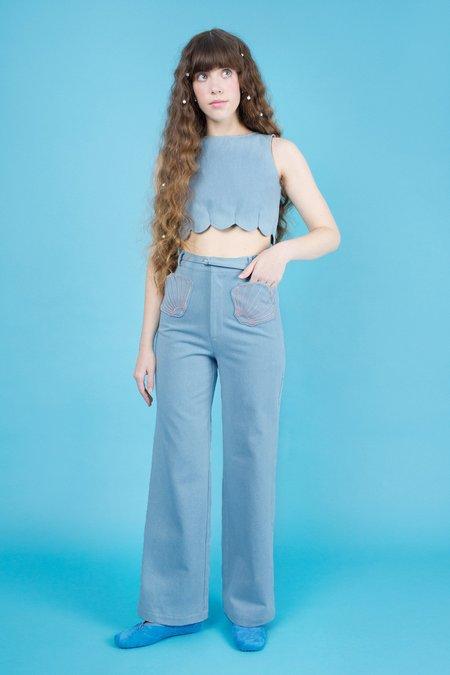 Samantha Pleet Shell Jeans - Ultramarine