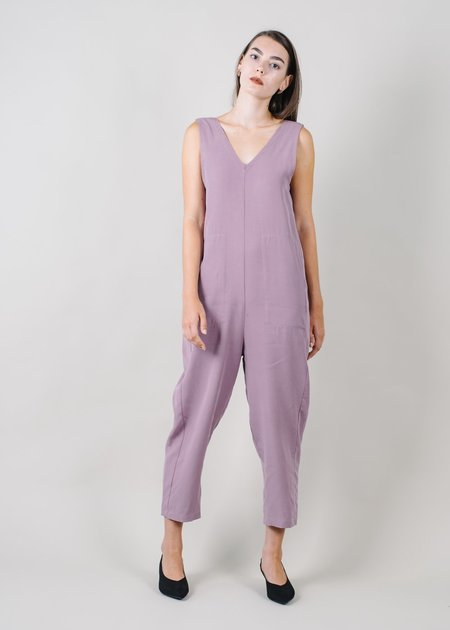 REIFhaus Lou Jumpsuit in Orchid