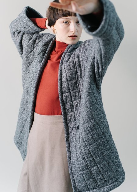 REIFhaus Yoko Coat in Static Quilt