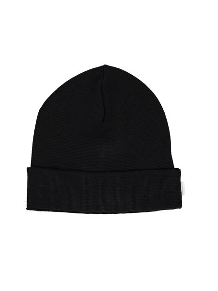 Norse Projects Norse Coolmax® Merino Beanie - Black