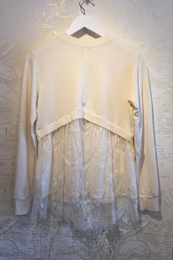 Clu Sweatshirt with lace back