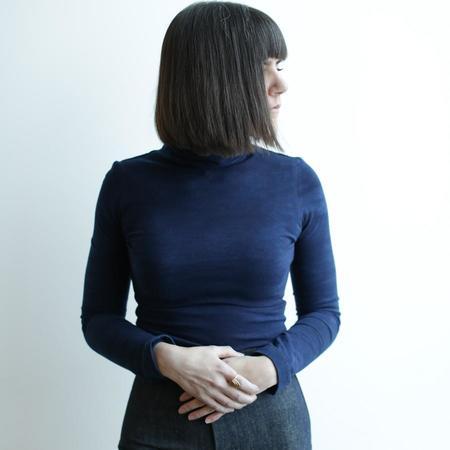 Osei-Duro Kendo Turtleneck - Indigo