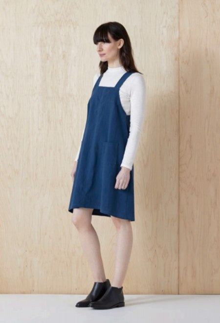 North Of West Jumper Dress - Pacific