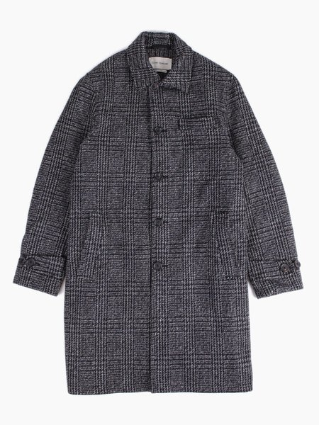 Oliver Spencer Beaumont Coat Charcoal