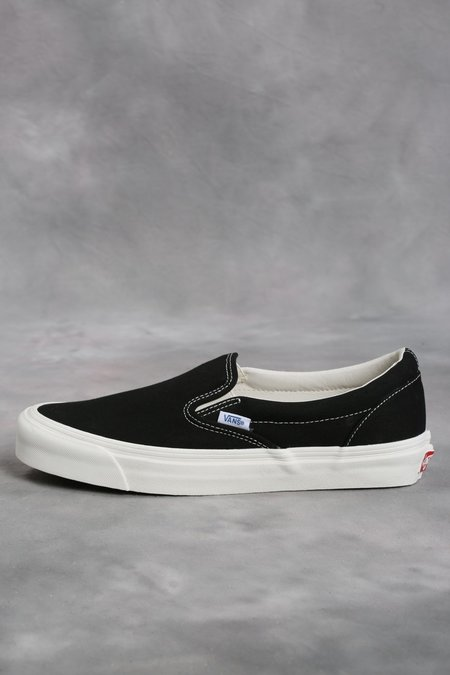 Vans Vault Black OG Classic LX Slip-On