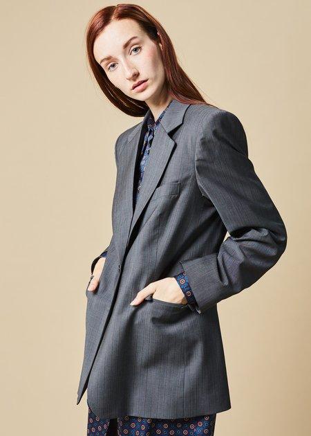 Ter et Bantine Single Button Pinstripe Blazer