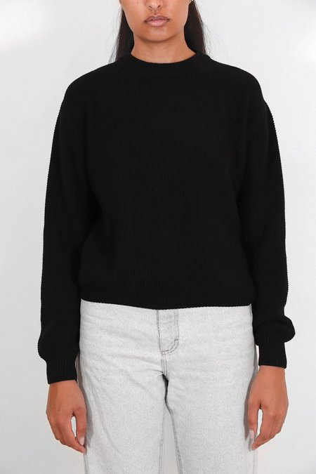 Kowtow Out of Sight Crew - Black