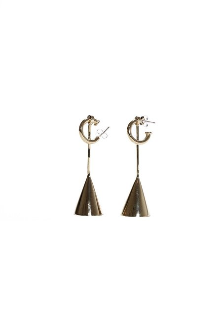 Quarry Vija Earrings - Brass