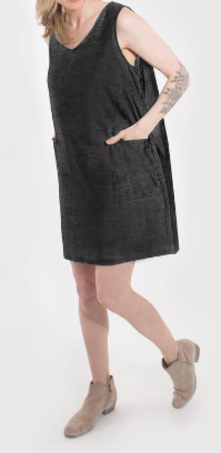 Coast Pocketed Day Dress - Black