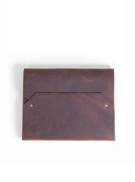 "Sunday Supply Co. Envelope Laptop Case 15"" - Chocolate"