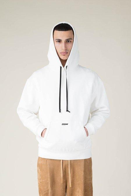 Drole De Monsieur DDM Logo Hoodie - White