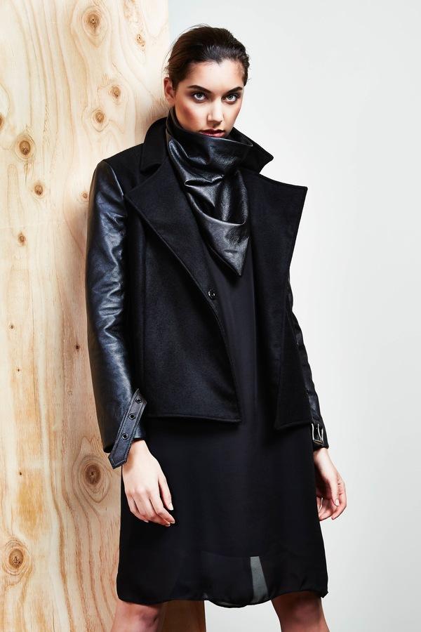 Devlyn van Loon Wool Moto Jacket