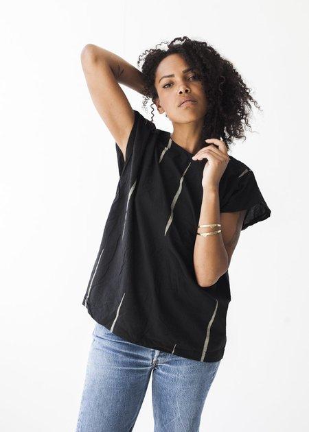 Uzi NYC Scratch Tunic in Black