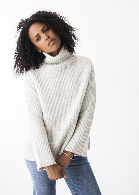 Line Knitwear Uma in Avalanche