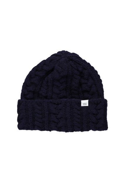 Norse Projects Brushed Cable Beanie
