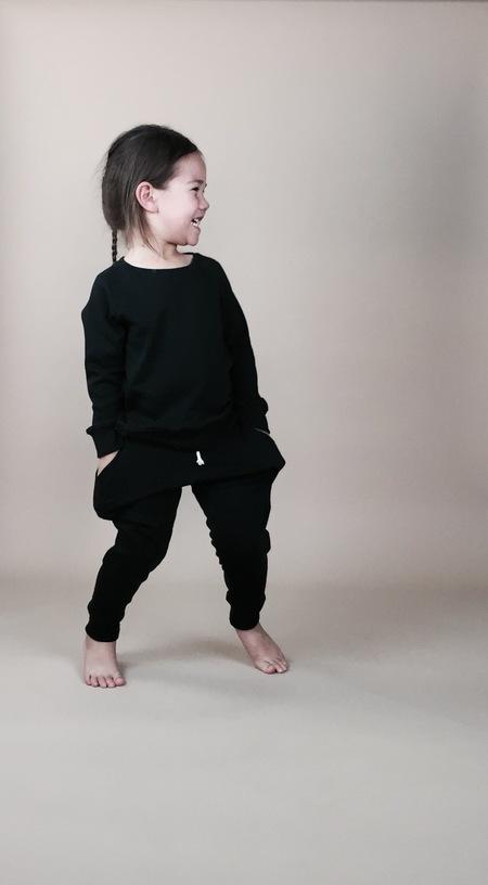 Malu Organic Sweatshirt Black