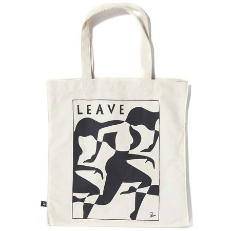BY PARRA LEAVE TOTE BAG - UNDYED NATURAL