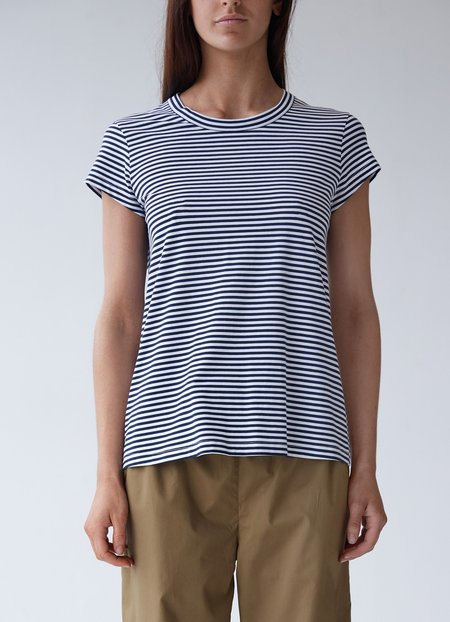 Laing Oliver Crew Neck Sleep T - Stripe