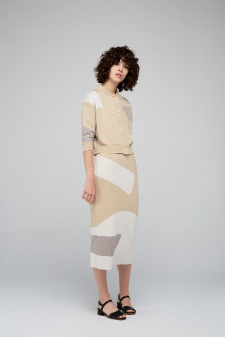 Diarte Max Color Block Skirt