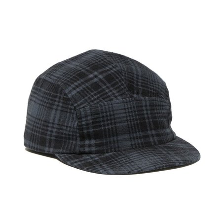 Maple Trail Cap Flannel - Charcoal