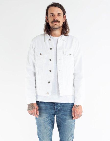 Neuw Denim Jacket Spike Island White