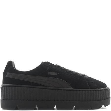 PUMA FENTY CLEATED SUEDE CREEPER - BLACK