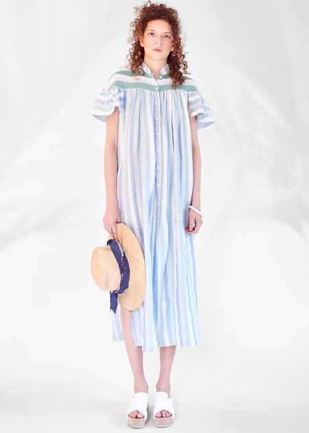 Christine Alcalay Striped Havana dress