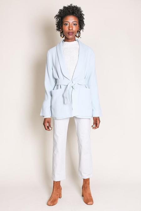 Apiece Apart Big Sur Soft Blazer in Sky