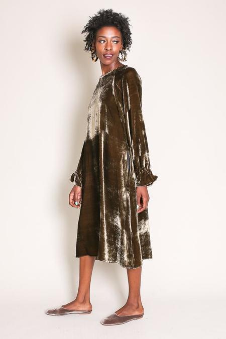 Creatures Of Comfort Larix Dress in Peet Velvet