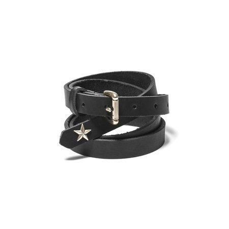 Maple Long Star Belt - Black